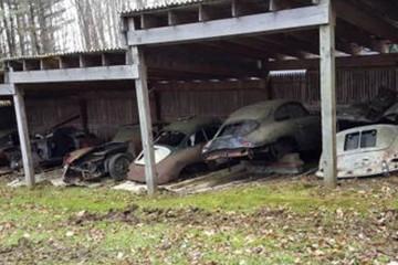 porsche 356 barn find