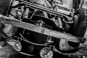 accidente coche francisco franco
