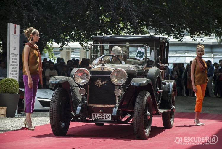 Alfa Romeo RL Normale Farré de 1925, aún con su matrícula española