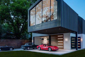 casa decoracion coche clasico