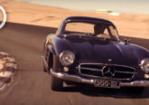 video mercedes benz 300sl