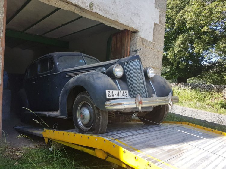 packard eight descubrimiento barn find