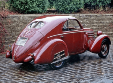 Fiat Balilla Berlinetta Aerodinamica 1936