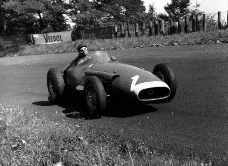 maserati 250f F1 Fangio On Board Driving