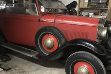 1931 opel p6 for sale