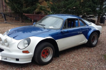 alpine a110 rally car for sale
